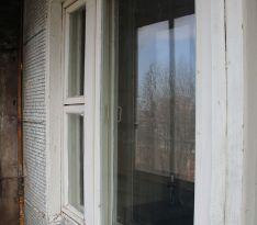 Старый балконный блок