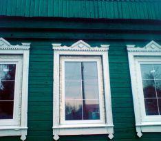 Остекление деревянного частного дома