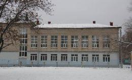 Остекление школы: правая сторона здания