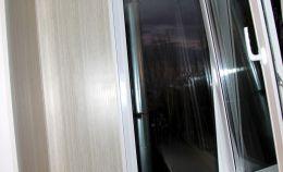 Ремонт балкона с установкой пластиковых окон