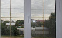 Пластиковое окно частного дома: вид изнутри