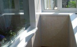 Балконный блок: вид с балкона