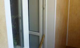 Балконная дверь в комнату