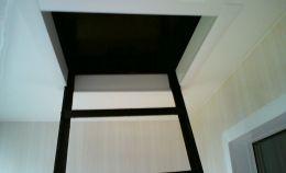 Отделка и ремонт балкона с пожарной лестницей