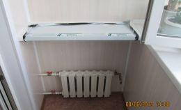 Установка радиаторов на балконе