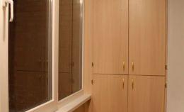 Шкаф хранения с распашными дверками