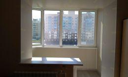 Теплое остекление лоджии и совмещение с комнатой